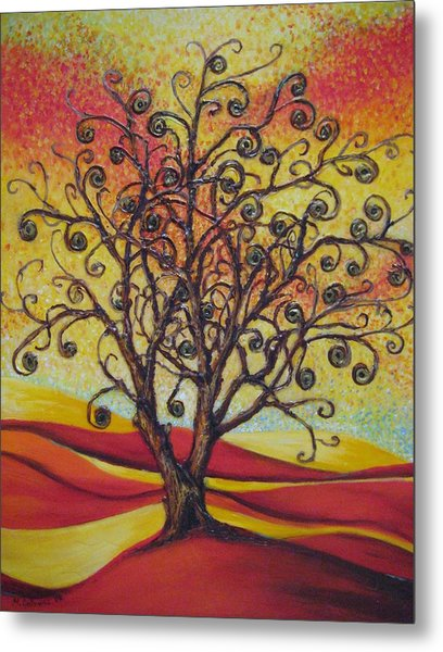 Tree Of Life Metal Print by Mirjana Gotovac