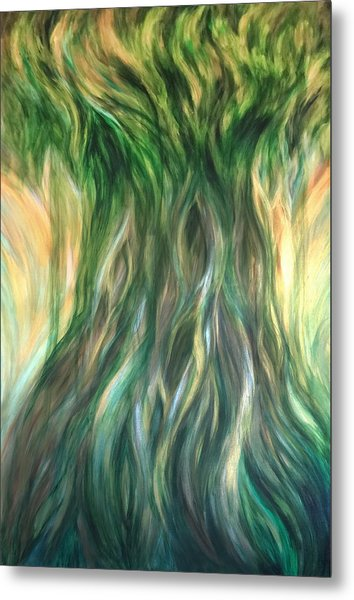 Tree Of Wisdom Metal Print