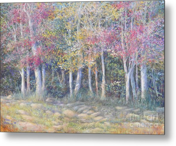 Tree Pageant Metal Print by Penny Neimiller