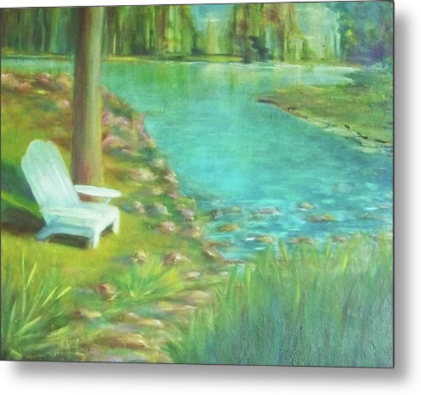 Tree Planted By The Waters Metal Print by Dana Redfern