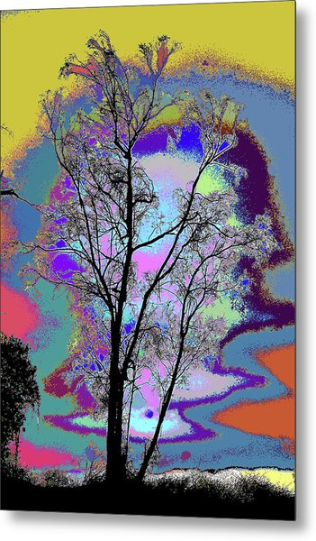 Tree - Story Of Life Metal Print