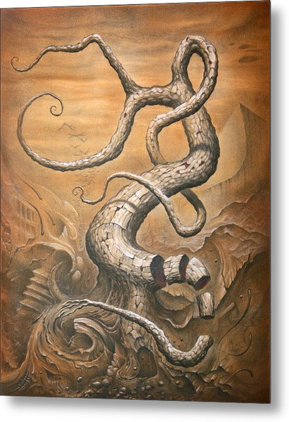 Treehensile Metal Print by Victor Whitmill