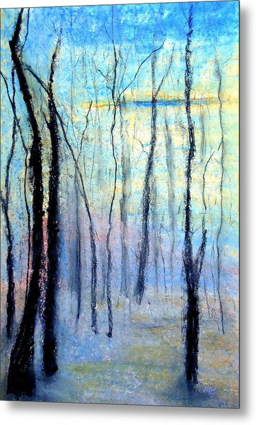 Treescape - Evening Metal Print