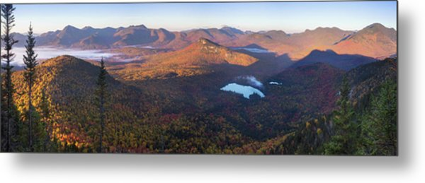 Tremont Autumn Morning Panorama Metal Print