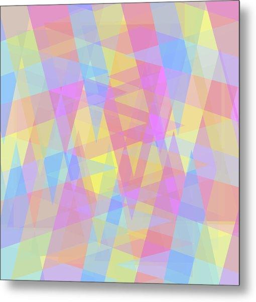 Triangle Jumble 2 Metal Print