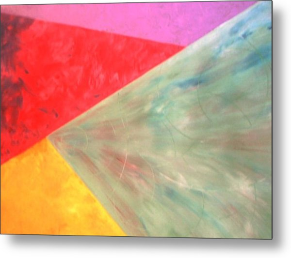 Triangles Metal Print by Guillermo Mason
