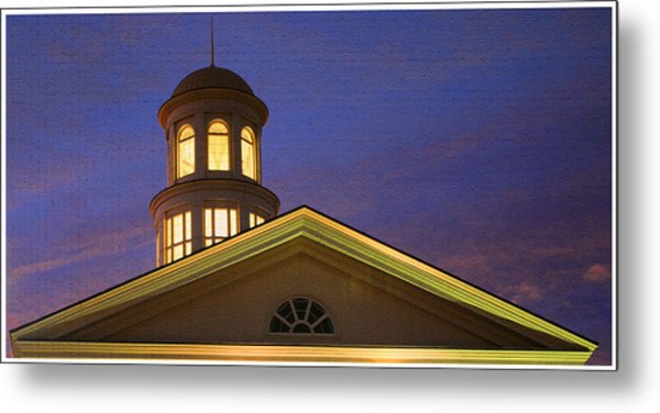 Trible Library Dome Metal Print