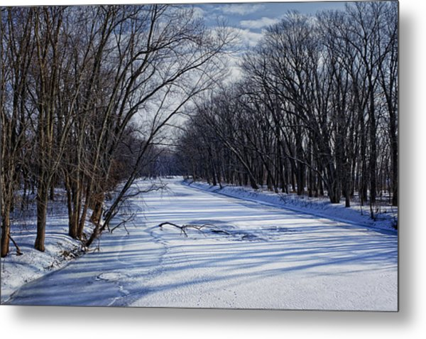 Metal Print featuring the photograph Tributary by John Gilbert