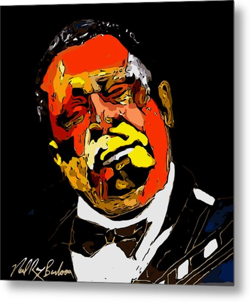 tribute to BB King reworked Metal Print
