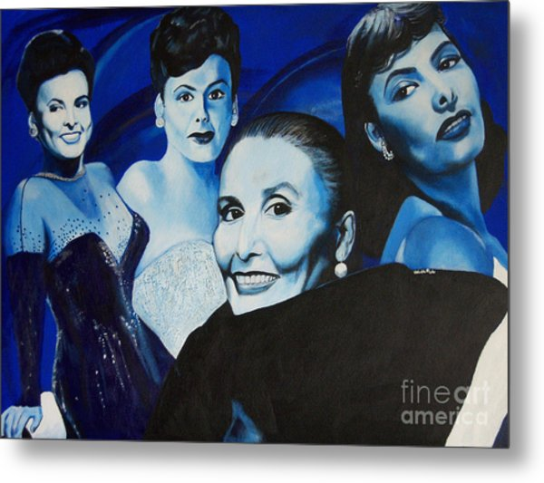 Tribute To Lena Horne Metal Print