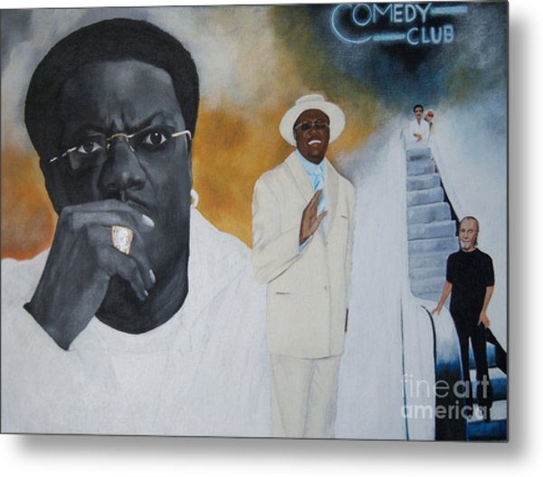 Tribute To Mr. Bernie Mac Metal Print