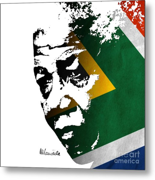 tribute to Nelson Mandela Metal Print