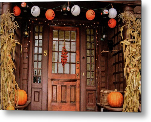 Trick Or Treat   Metal Print by JAMART Photography