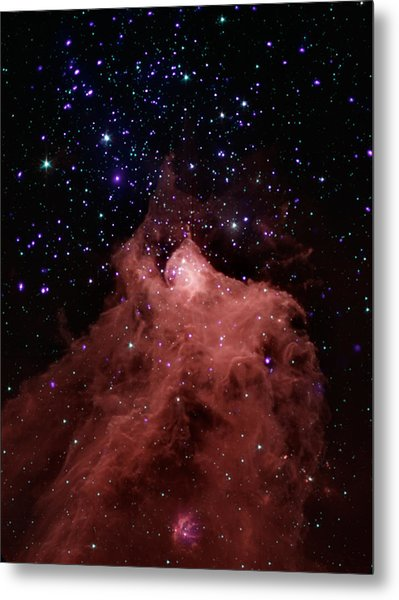 Trigger-happy Star Formation Metal Print