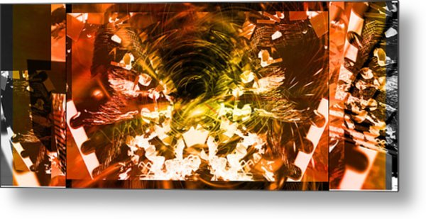 Trilogy Metal Print