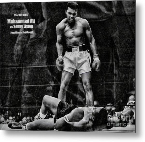 Trinity Boxing Gym Ali Vs Liston  Metal Print