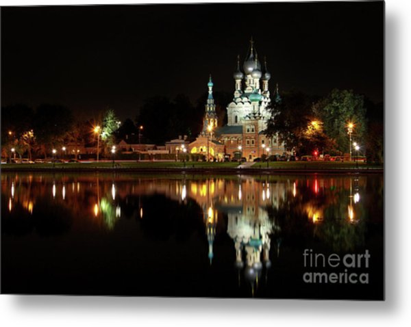 Trinity Church Metal Print