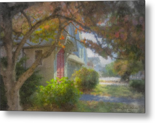 Trinity Episcopal Church, Bridgewater, Massachusetts Metal Print