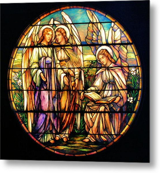 Trio Of Angels Metal Print