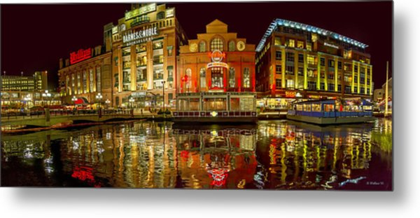 Tripping The Lights - Pano Metal Print