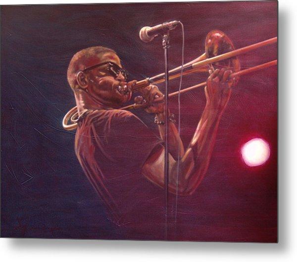 Trombone Shorty Metal Print