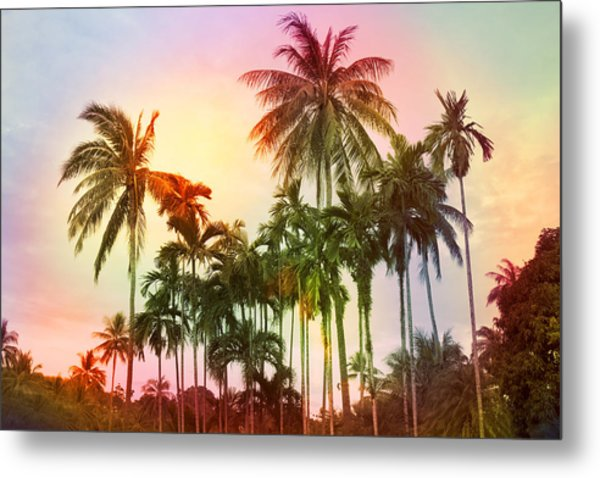 Tropical 11 Metal Print