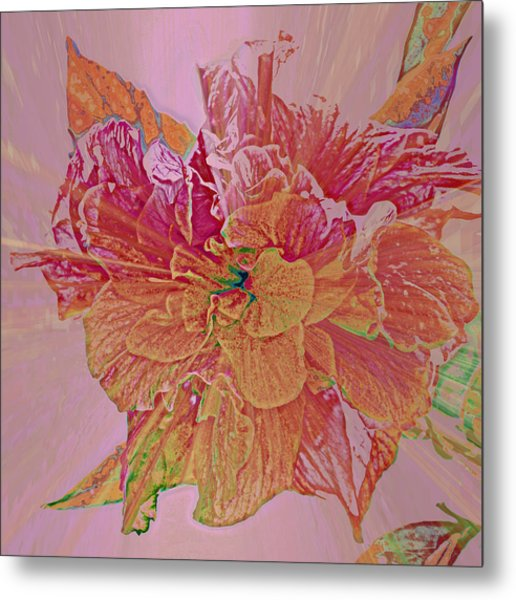 Tropical Beauty Metal Print