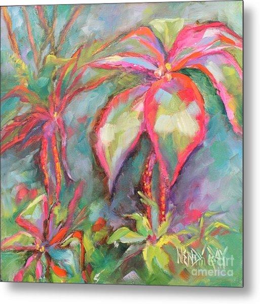 Tropical Beauty Metal Print