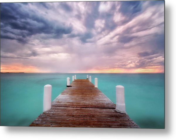Tropical Drama Metal Print
