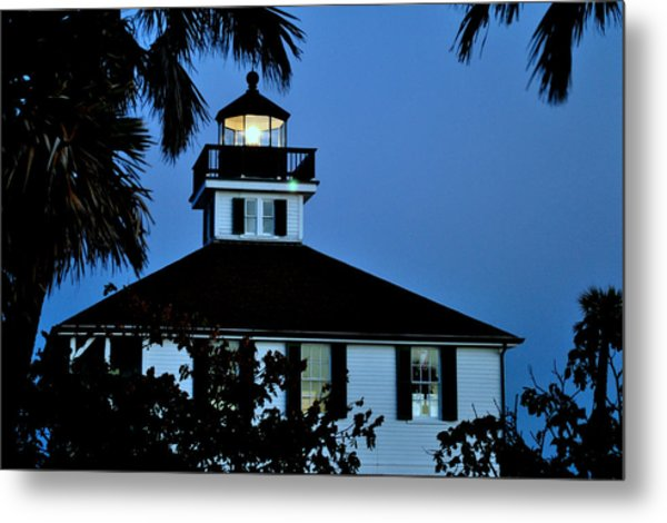 Tropical Evening Metal Print by Steven Scott