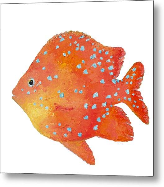 Tropical Fish - Bathroom Art Metal Print