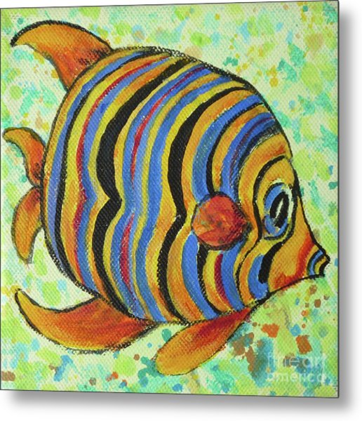 Tropical Fish Series 4 Of 4 Metal Print