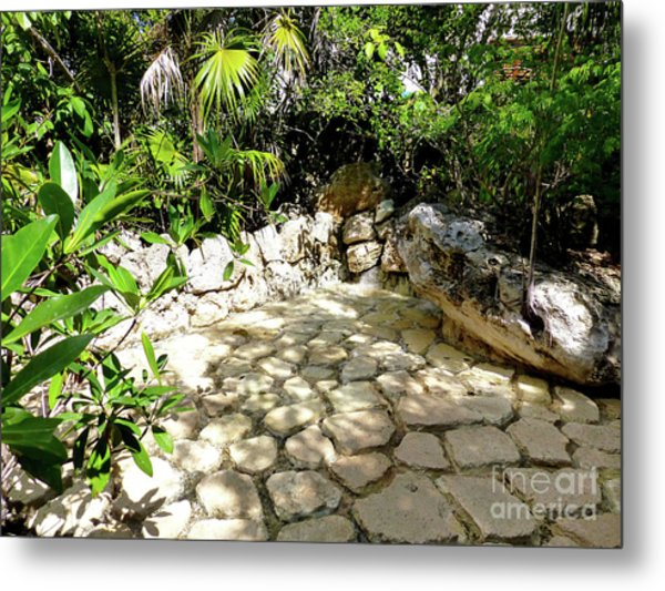 Tropical Hiding Spot Metal Print