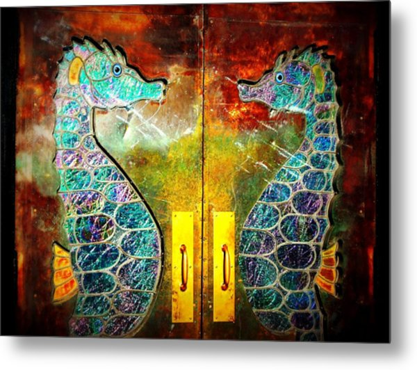 Tropical Ponies Metal Print by JAMART Photography