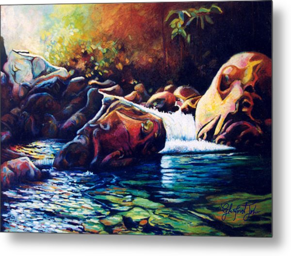 Tropical River Metal Print