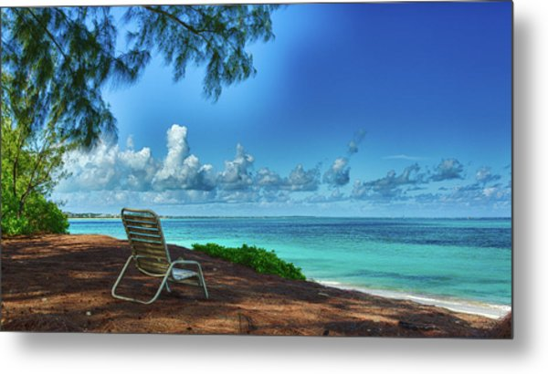 Tropical View Metal Print