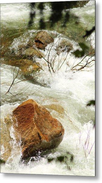 Truckey River Metal Print