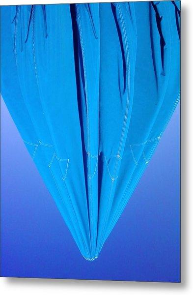 True Blue Metal Print by Anna Villarreal Garbis