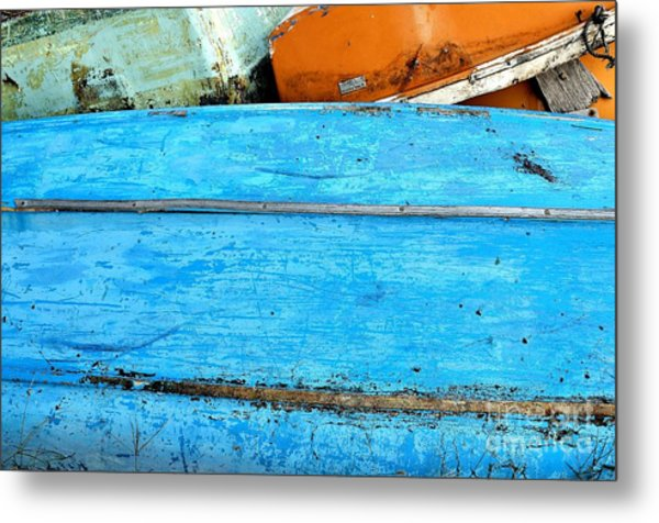 True Sailing Metal Print