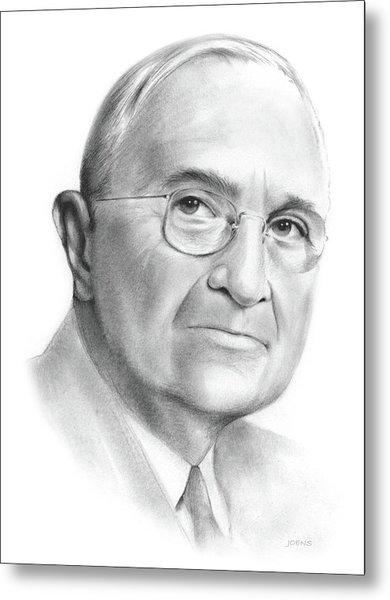 Truman Metal Print