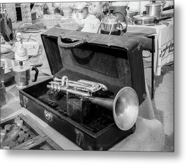 Trumpet For Sale Metal Print