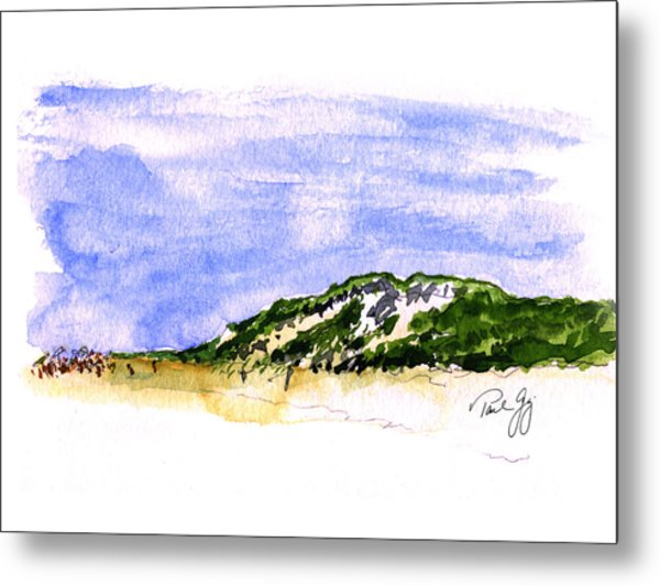Truro Beach Cape Cod Metal Print