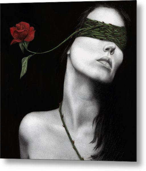 Truth Of Beauty Metal Print