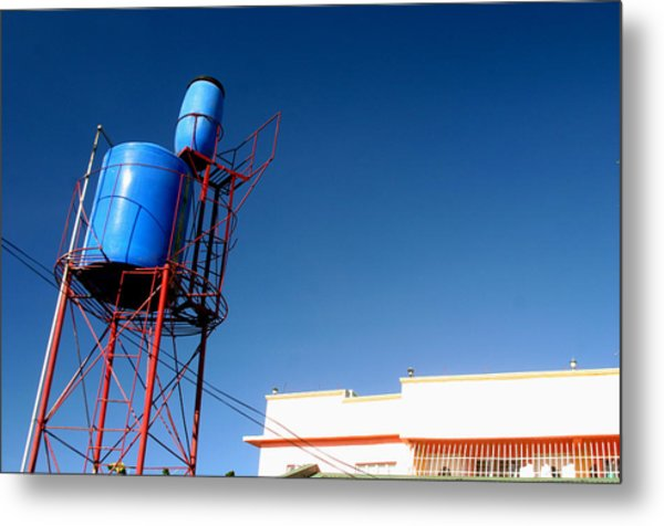Tubig Tower 3 Metal Print by Jez C Self