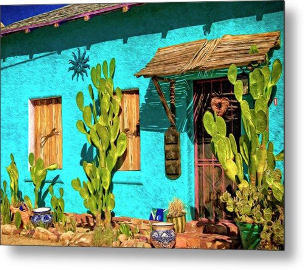 Tucson Blue Metal Print