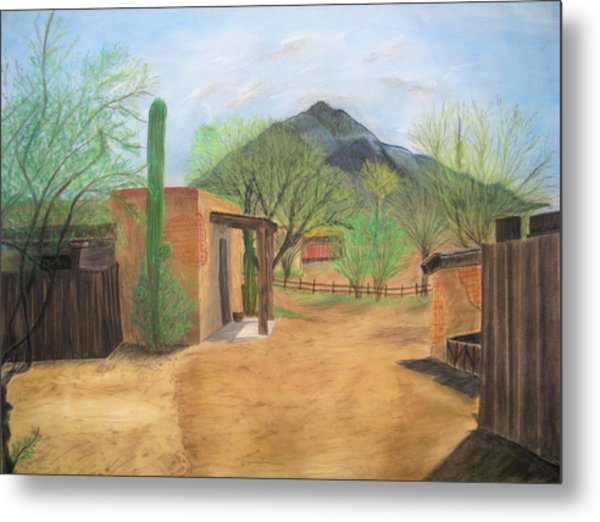 Tucson Ranch Metal Print