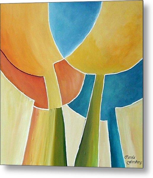 Tulip Moon Metal Print by Carola Ann-Margret Forsberg