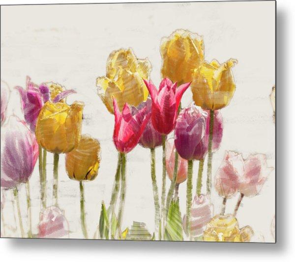 Tulipe Metal Print