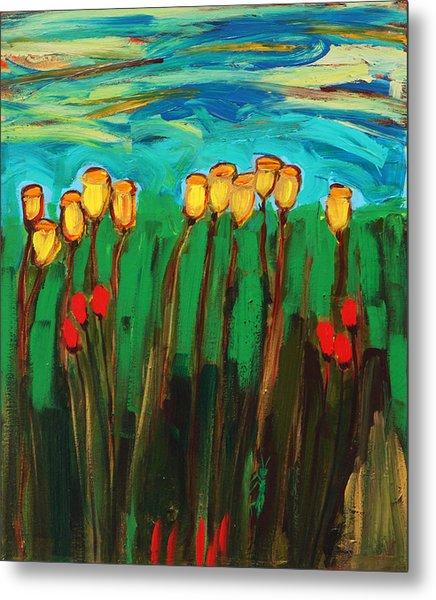 Tulips Metal Print by Maggis Art