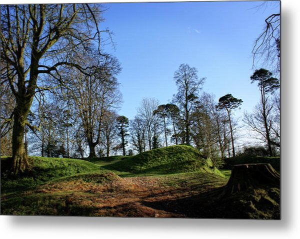 Tullyhogue Fort, Cookstown. Metal Print